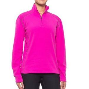 luride Fleece Pullover Jacket - Zip Neck